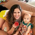 Camilla Camargo é mãe de Joaquim, de 1 ano
