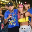 Anitta se divertiu com Neymar em Ibiza; os dois trocaram beijos no Carnaval de 2019