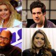 Na primeira temporada de 'The Voice Brasil', Preta Gil e Ed Motta integraram o elenco de artistas do programa. Depois foram substituidos por Maria Gadú e Gaby Amarantos