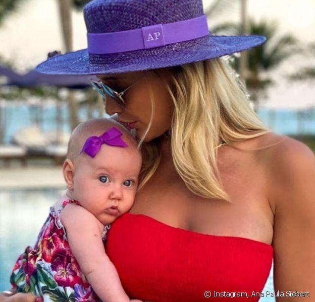 Ana Paula Siebert se diverte por pose da filha, Vicky, em foto de biquíni. Veja o clique em matéria nesta segunda-feira, dia 07 de setembro de 2020