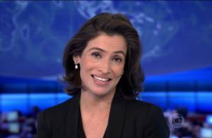 Renata Vasconcellos assume posto de Patricia Poeta no 'JN' e é elogiada: 'Adoro'