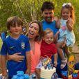 Patricia Abravanel abre álbum de fotos da festa de aniversário do filho Pedro