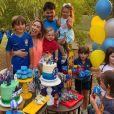 Filho de Patricia Abravanel, Pedro  completou seis anos com uma festa com o tema do jogo Fortnite