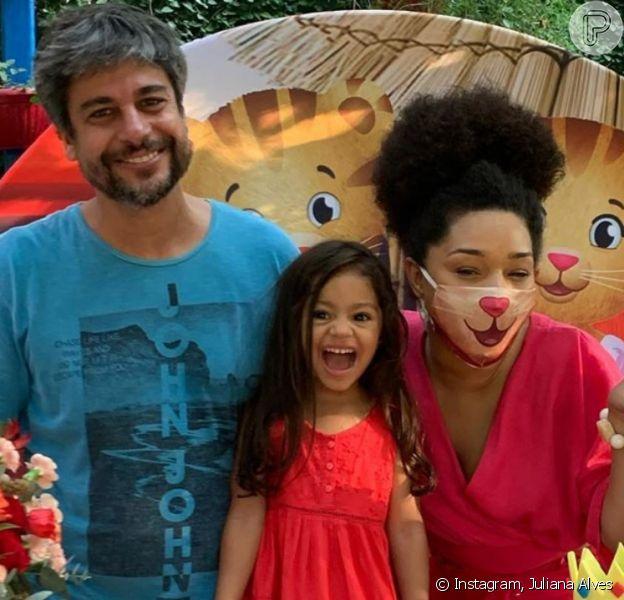 Filha de Juliana Alves completa 3 anos e ganha festa temática dos pais
