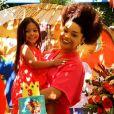 Filha de Juliana Alves ganha festa temática do desenho 'Daniel Tigre'