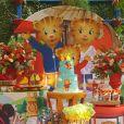 Juliana Alves mostra detalhes da festa de 3 anos da filha