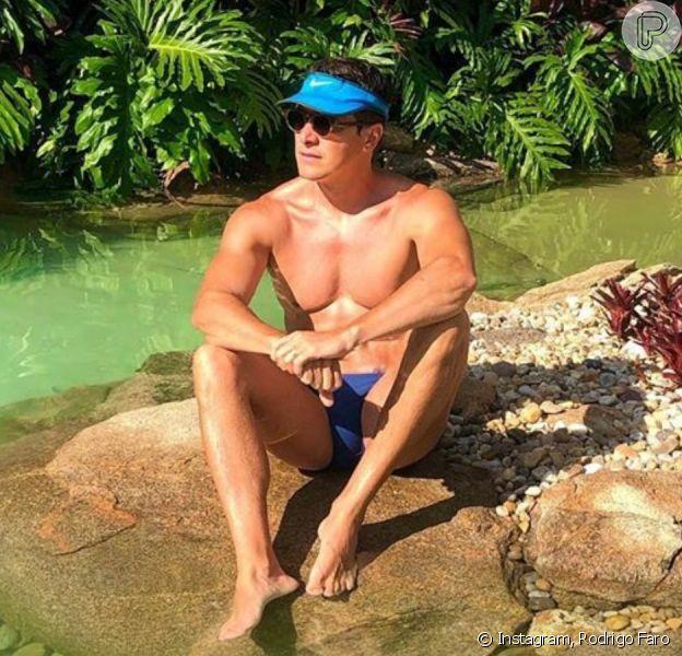 Veja fotos da mansão de Rodrigo Faro: piscina com ilha, cascata e muito mais!