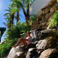 Rodrigo Faro possui uma cascata em casa com conexão para a piscina