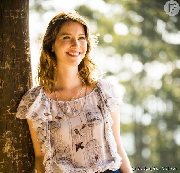 Após sofrer acidente, Laura (Nathalia Dill) esquece a noite de amor que teve com Caíque (Sergio Guizé), em 'Alto Astral', em 5 de novembro de 2014