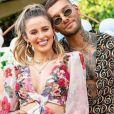 Lucas Lucco e Lorena Carvalho anunciam sexo do filho, em 3 de outubro de 2020