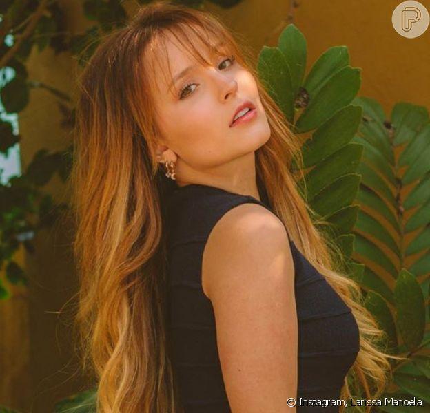 Larissa Manoela faz mudança radical no cabelo e se despede de cabelo longo