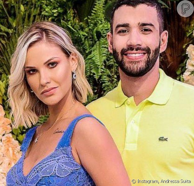 Casamento de Andressa Suita e Gusttavo Lima acabou após quase 5 anos, revelou o colunista Leo Dias nesta sexta-feira, 9 de outubro de 2020