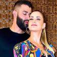 Andressa Suita e Gusttavo Lima anunciaram separação em 9 de outubro de 2020