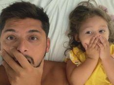 Bruno Gissoni se diverte com sucesso da filha, Madalena, na web: 'O centro das atenções'