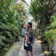 Madalena, de 3 anos, rouba a cena em foto com pai, Bruno Gissoni