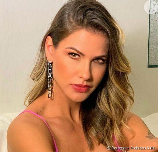 Andressa Suita pede divórcio de Gusttavo Lima após fim do casamento