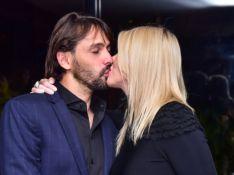 Val Marchiori festeja 15 anos dos filhos gêmeos e troca beijos com noivo. Fotos!
