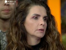 Eliminada da 'Fazenda', Luiza Ambiel troca indireta com Jojo Todynho e briga na TV