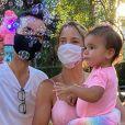 Ticiane Pinheiro e César Tralli estão casados desde 2017 e são pais de Manuella, de 1 ano