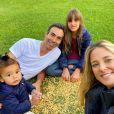 Ticiane Pinheiro é mãe de Rafaella, 11 anos, Manuella, 1, e mulher de César Tralli há quase 3 anos