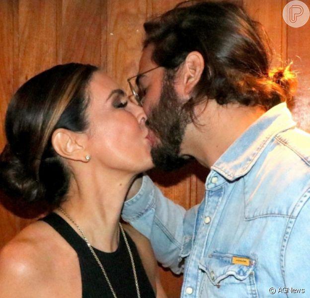Fátima Bernardes e Túlio Gadêlha comemoram 3 anos de namoro nesta segunda-feira, 2 de novembro de 2020