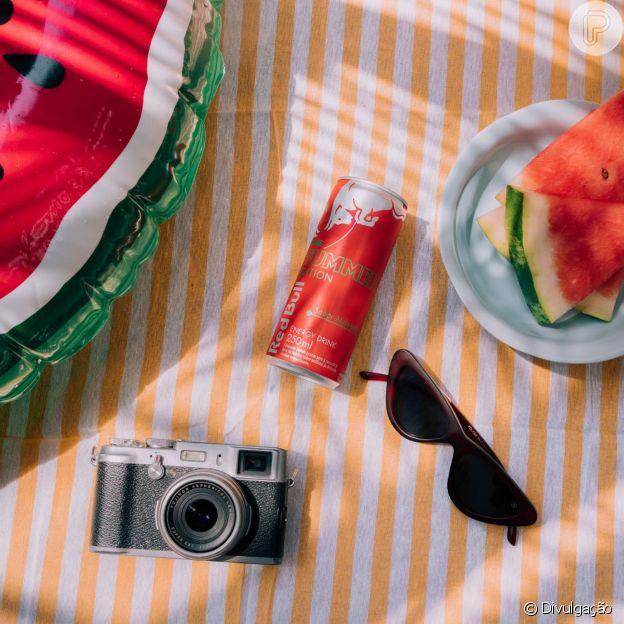 Red Bull apresenta novo sabor melancia, para comemorar a chegada do verão