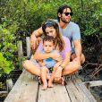 Dudu Azevedo é casado com a  médica Fernanda Mader, com quem tem um filho