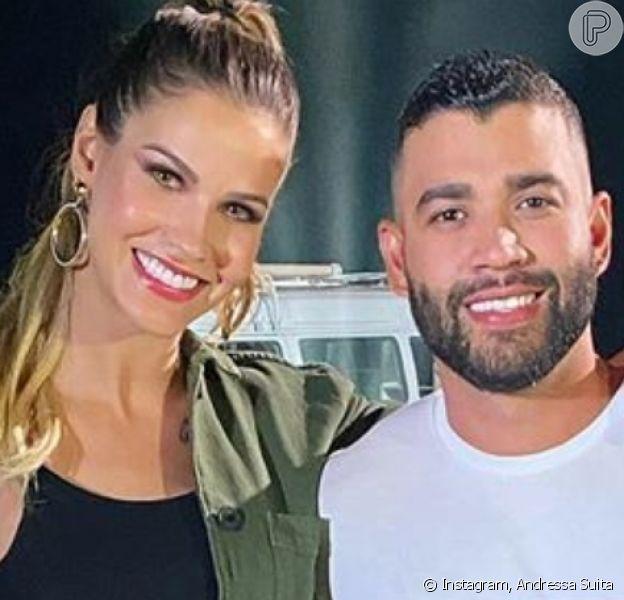 Andressa Suita grava vídeo e fãs cogitam reconciliação com Gusttavo Lima: 'Mesmo carro?'