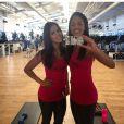 A atriz Pérola Faria costuma compartilhar fotos em seu Instagram em ação nas atividades físicas