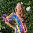 Nathalia Dill busca na ioga ajuda para a hora do parto