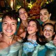Rodrigo Faro tem três filhas com Vera Viel: Clara, Maria e Helena