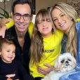 Filha de Ticiane Pinheiro e Roberto Justus, Rafaella Justus mantém ótima relação com o padrasto, César Tralli
