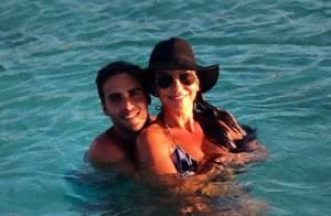 Ivete Sangalo curte férias com o marido em praia do Caribe: 'Maior presente'