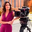 Fátima Bernardes está, por ora, afastada do 'Encontro' em virtude do tratamento contra câncer