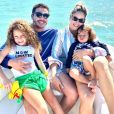 Mãe de dois, Thyane Dantas esbanja boa forma em fotos nas redes sociais