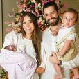Alok e Romana Novais comemoram Natal com a filha, Raika: ' Alegria que não cabe em mim!'