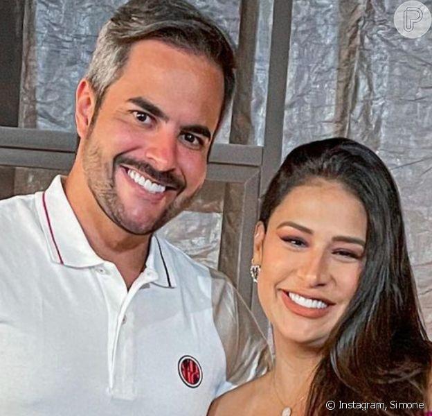 Simone Mendes aguarda o nascimento da segunda filha com Kaká Diniz