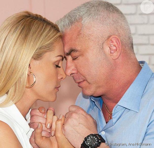 Marido de Ana Hickmann é internado após 7 convulsões