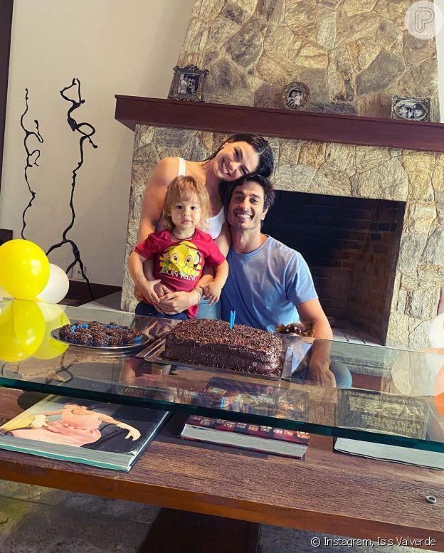 Filho de Isis Valverde e André Resende completou 2 anos em novembro de 2020
