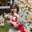 Sthefany Brito afirmou ter sonhos repetidos com a hora da amamentação do filho