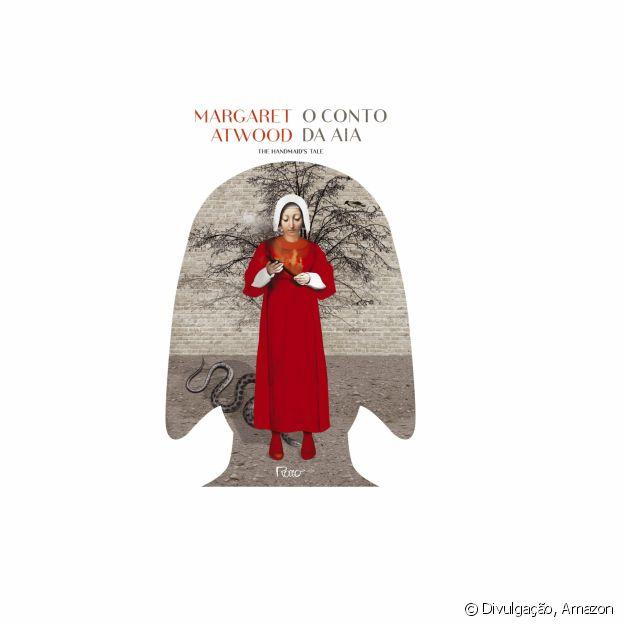 O livro 'O conto de Aia', de Margaret Atwood, está disponível na Amazon