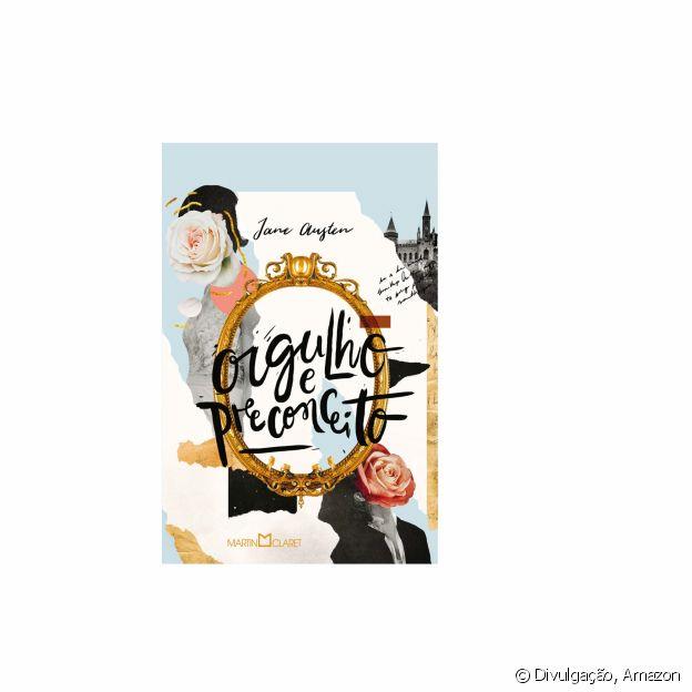 O livro 'Orgulho e Preconceito', de Jane Austen, está disponível na Amazon
