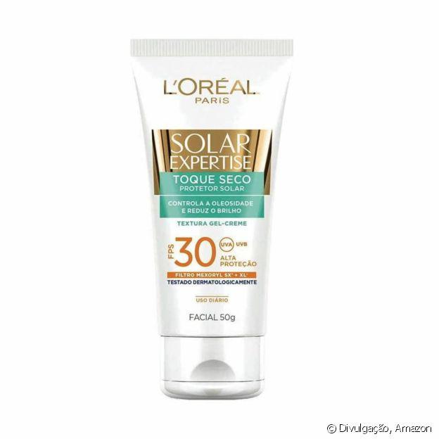 Protetor Solar Facial Solar Expertise, da L'Oréal Paris