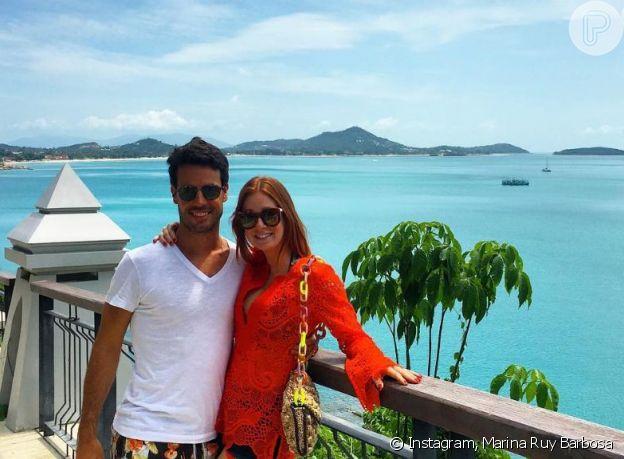 Marina Ruy Barbosa foi pedida em casamento na Tailândia
