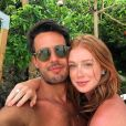 Marina Ruy Barbosa e Xande Negrão ficaram noivos durante viagem à Tailândia em 2016