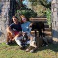 Marina Ruy Barbosa e Xande Negrão tinham pets como parte da família