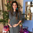 Andréia Sadi surpreendeu-se ao descobrir a gravidez
