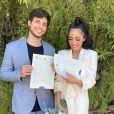 Jade Seba e Bruno Guedes já estavam casados no civil