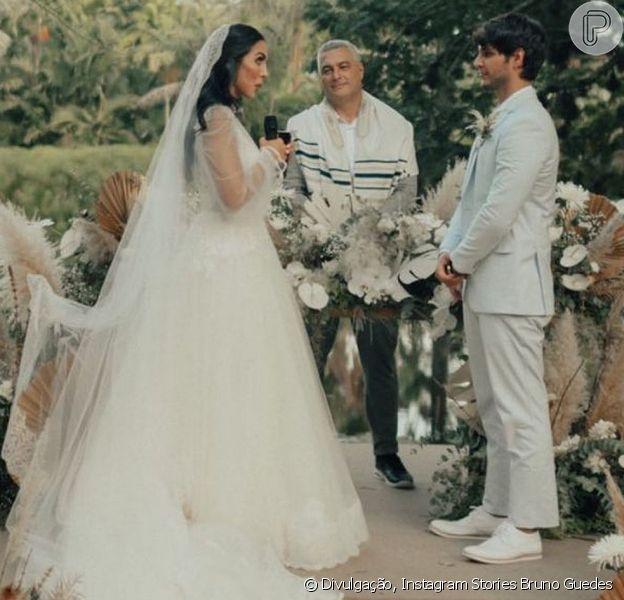 O casamento de Jade Seba e Bruno Guedes aconteceu neste sábado, 23 de janeiro de 2021