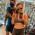 Mariana Bridi está empenhada em sua jornada fitness